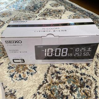 セイコー(SEIKO)の SEIKO デジタル電波クロック(置時計)