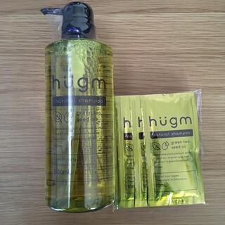 ティーライフ(Tea Life)のハグム hugm ナチュラルシャンプー 500ml+100ml(シャンプー)