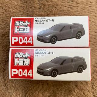 タイトー(TAITO)のポケットトミカ P044 日産GT-R(電車のおもちゃ/車)