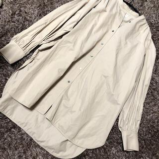ハレ(HARE)のバンドカラーふんわりシャツ(シャツ/ブラウス(長袖/七分))