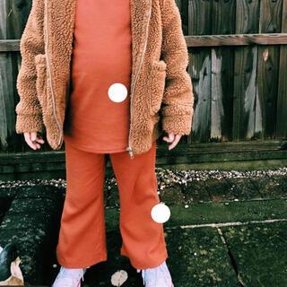"""Caramel baby&child  - フレアパンツ wolfcub 3-4y カラー""""rust"""""""
