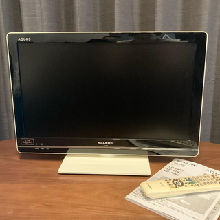 アクオス(AQUOS)の【ここさま専用】SHARP AQUOS 液晶テレビLC-22K7 22V型(テレビ)