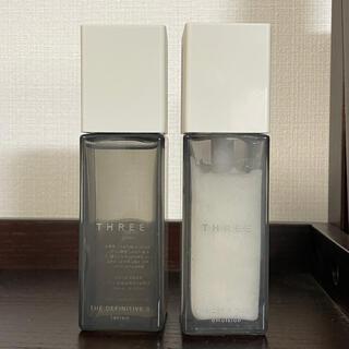 スリー(THREE)のthree メンズ 化粧水 乳液(化粧水/ローション)