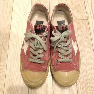 GOLDEN GOOSE - ゴールデングース スニーカー v-star 38 ピンク