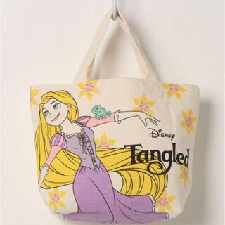 ディズニー(Disney)の新品未開封 ラプンツェル マチ付きバッグ トートバッグ ランチバッグ(トートバッグ)