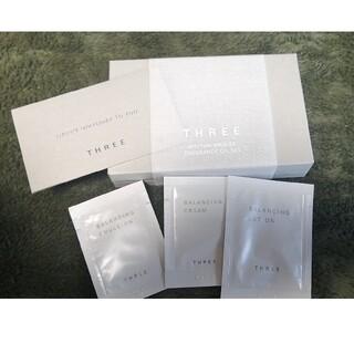スリー(THREE)のTHREE リズムアミュレット フレグランスオイル062 サンプルセット(香水(女性用))