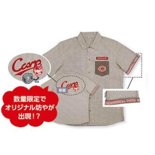 ヒロシマトウヨウカープ(広島東洋カープ)のふっちょ様専用2021 カープオリジナルヒッコリーシャツL サイズ 新品未使用(シャツ)