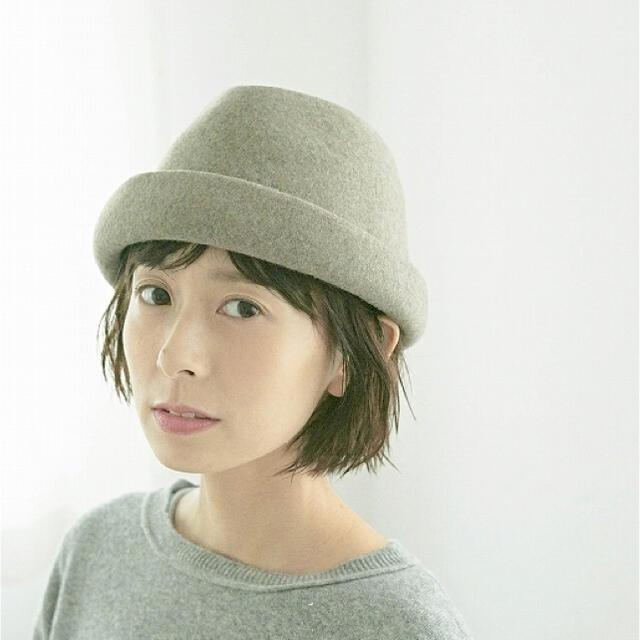 pual ce cin(ピュアルセシン)のピュアルセシン フェルトハット レディースの帽子(ハット)の商品写真
