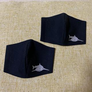 【2枚セット】サメ 子供用 インナーマスク(外出用品)