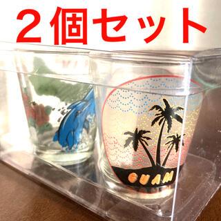 【新品】ショットグラス グアム 2個セット ペアグラス(グラス/カップ)