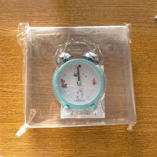 タカラジマシャ(宝島社)のリンネル 3月号 付録 ムーミン  目覚まし時計 (置時計)