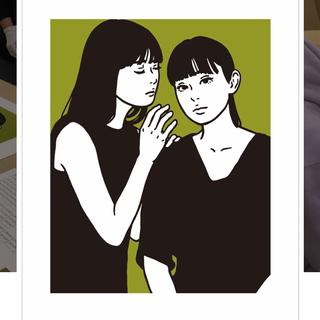 【はな様専用】KYNE シルクスクリーン J(版画)