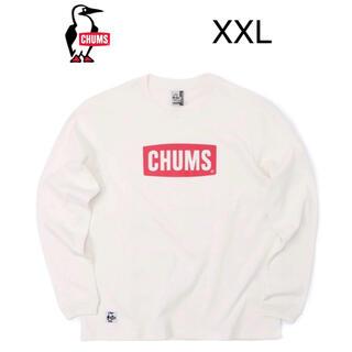 チャムス(CHUMS)の新品タグ付き CHUMS Logo T-Shirt XXL 定価4950円(Tシャツ/カットソー(七分/長袖))