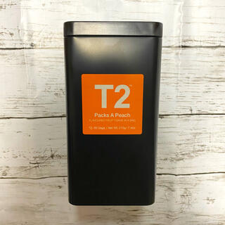 【日本未上陸】T2 パックスアピーチ ( Packs A Peach )(茶)