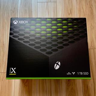 エックスボックス(Xbox)のほぼ新品!美品!XBOX Series X(家庭用ゲーム機本体)