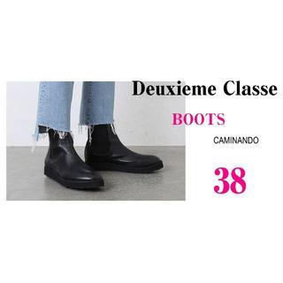 DEUXIEME CLASSE - Deuxieme Classe 最新作!即完売 CAMINANDO BOOTS