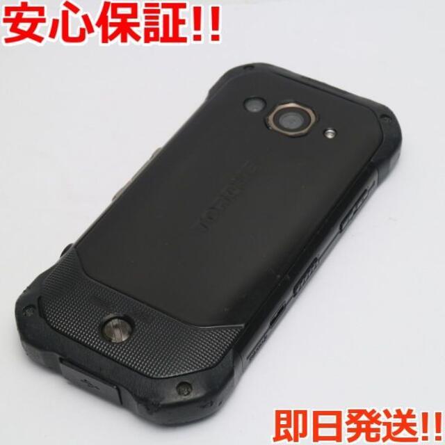 京セラ(キョウセラ)の良品中古 SIMロック解除済 au TORQUE G03 ブラック 白ロム スマホ/家電/カメラのスマートフォン/携帯電話(スマートフォン本体)の商品写真