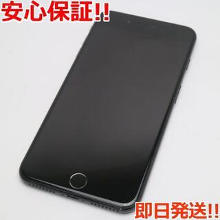 アイフォーン(iPhone)の美品 SIMフリー iPhone7 PLUS 128GB ジェットブラック (スマートフォン本体)