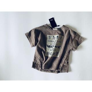Disney - ミッキーT プリントT Tシャツ カットソー トップス 韓国子供服 80 M