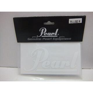 パール(pearl)の★0849・Pearl ロゴステッカー ホワイト 4枚セット 未開封品(その他)