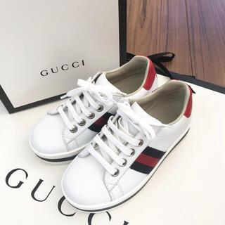 グッチ(Gucci)のグッチチルドレン スニーカー 28(スニーカー)