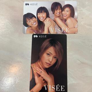 コーセー(KOSE)の希少品‼️安室奈美恵&MAX テレフォンカード 未使用 2枚セット(女性タレント)