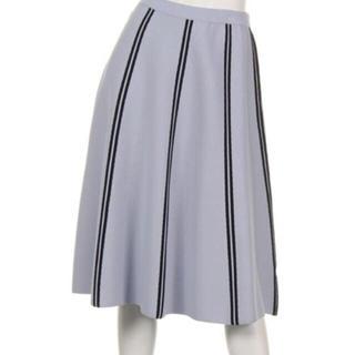 フレイアイディー(FRAY I.D)のフレイアイディーフレアストライプスカート(ロングスカート)