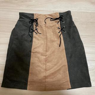 アルシーヴ(archives)のarchives 台形スカート(ミニスカート)