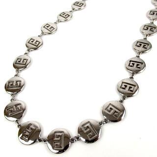 ジバンシィ(GIVENCHY)のジバンシィ ロゴパンチング ヴィンテージ ロング ネックレス 17-324(ネックレス)