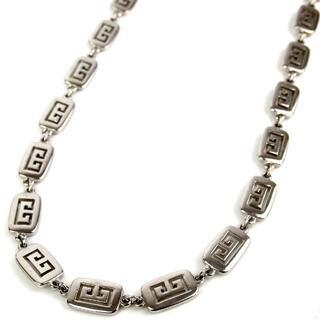ジバンシィ(GIVENCHY)のジバンシィ ロゴパンチングプレート ヴィンテージ ネックレス 17-325(ネックレス)