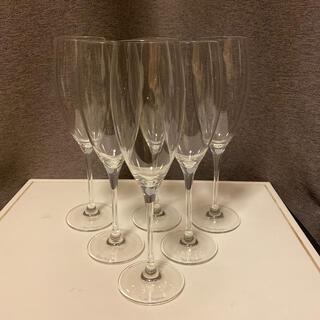 ドンペリニヨン(Dom Pérignon)のドンペリニヨン シャンパングラス 6脚セット 新品未使用(アルコールグッズ)