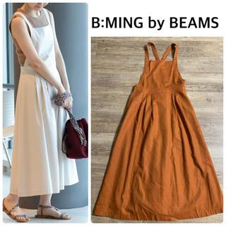 B:MING LIFE STORE by BEAMS - 【B:MING by BEAMS】エプロンマキシワンピース