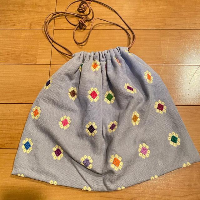 PHEENY(フィーニー)のCharrita 巾着バッグ sold レディースのバッグ(トートバッグ)の商品写真