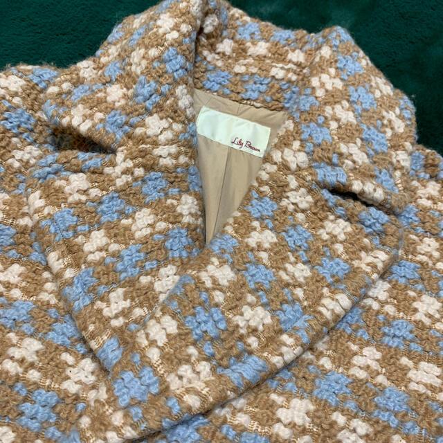 Lily Brown(リリーブラウン)のお値下げしました。リリーブラウン❤︎コートになります。 レディースのジャケット/アウター(チェスターコート)の商品写真