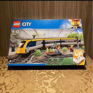 レゴ(Lego)の新品 LEGO CITY ハイスピード トレイン 60197(電車のおもちゃ/車)