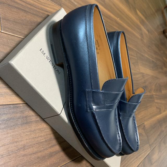 J.M. WESTON(ジェーエムウエストン)のj.m WESTON SIGNATURE LOAFER  ローファー レディースの靴/シューズ(ローファー/革靴)の商品写真
