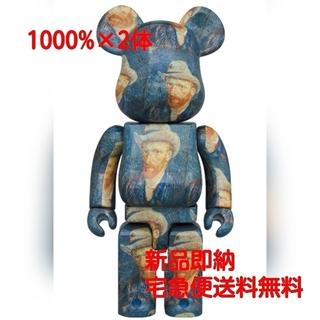 メディコムトイ(MEDICOM TOY)の【2体セット】BE@RBRICK Van Gogh Museum 1000%(その他)