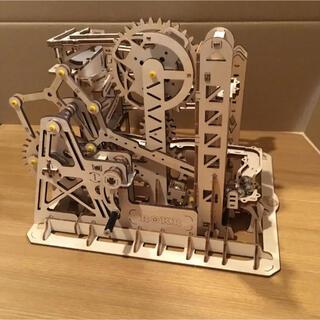 【完成品】マーブルコースター 組立済み(エレベーターと水車)(模型/プラモデル)