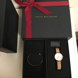 ダニエルウェリントン(Daniel Wellington)のダニエルウェリントン ローズゴールド 時計(腕時計)