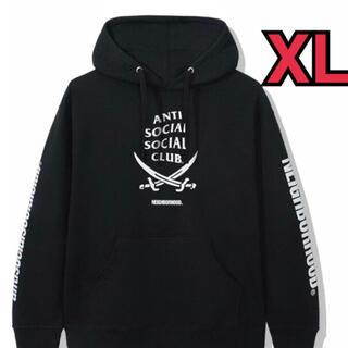 ネイバーフッド(NEIGHBORHOOD)の アンチソーシャルソーシャルクラブ コラボ ネイバーフッド パーカー XL(パーカー)
