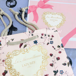 Les Merveilleuses LADUREE - ラデュレ ギフトボックス ショッパー ラッピング セット プレゼント