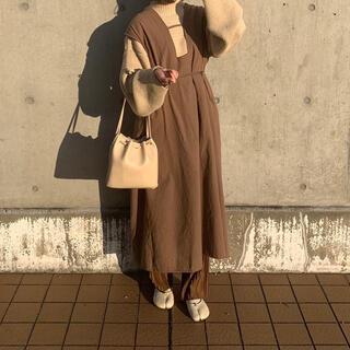 lawgy original 2way vest onepiece(ロングワンピース/マキシワンピース)