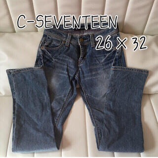 セブンティーン(SEVENTEEN)のC-SEVENTEEN デニムパンツ スリム 66㎝(デニム/ジーンズ)