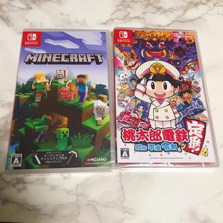 ニンテンドースイッチ(Nintendo Switch)の【新品送料無料】Minecraft マインクラフト 桃太郎電鉄 セット(家庭用ゲームソフト)