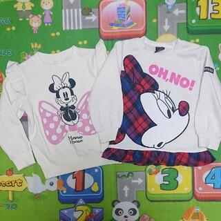 Disney - ミニーちゃん トレーナー セット 100