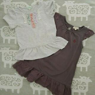 サンカンシオン(3can4on)のサンカンシオン Tシャツ ワンピースセット(Tシャツ/カットソー)