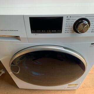 送料無料  アクア ドラム洗濯機 AQW-FV800E