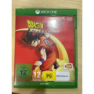 エックスボックス(Xbox)のドラゴンボールZカカロット XBOX ONE版(家庭用ゲームソフト)