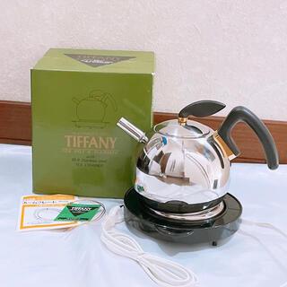 Tiffany & Co. - レトロ ビンテージ TIFFANY ティファニー ティーポット ウォーマーセット
