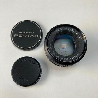 ペンタックス(PENTAX)の美品 SMC TAKUMAR 55mm F1.8 純正前後CAP付 タクマー a(レンズ(単焦点))